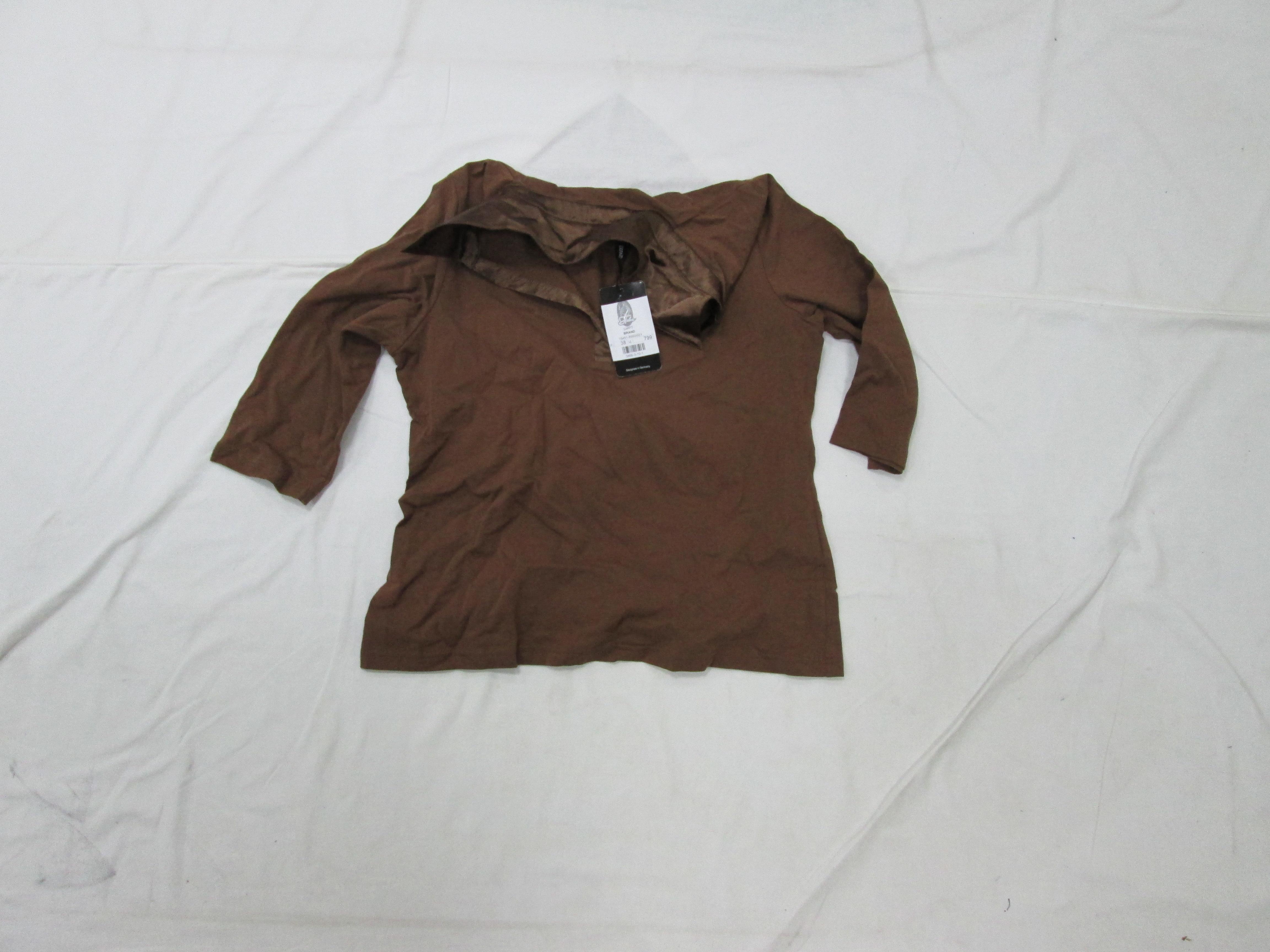 Кофта коричневого кольору