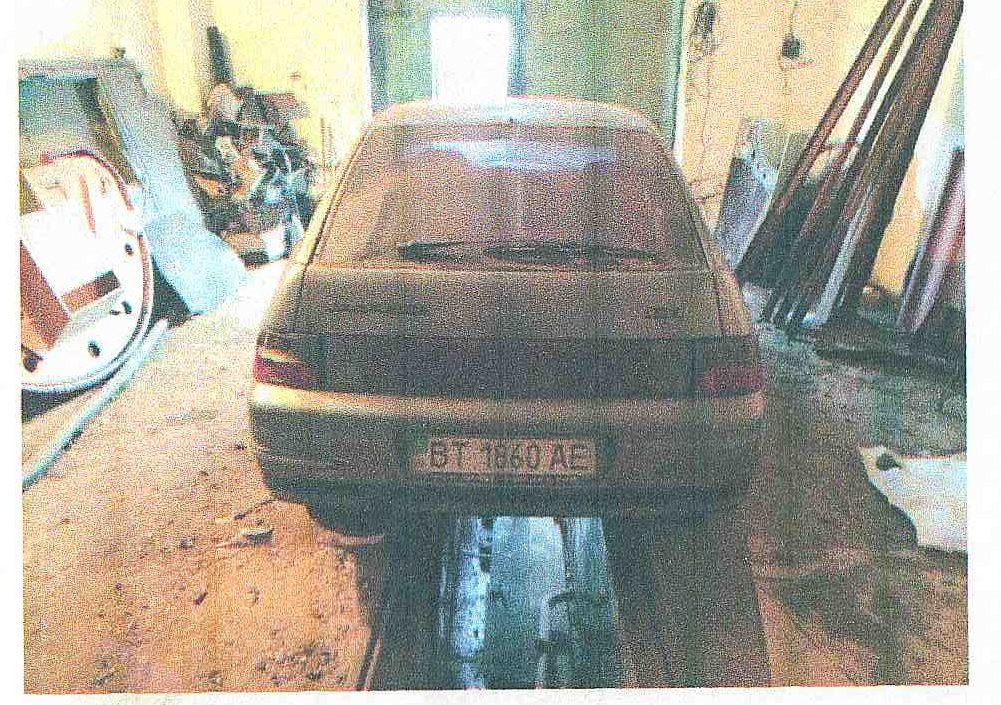 Автомобіль легковий ВАЗ 21121, 2006 року випуску, сірого кольору, д.н. ВТ1860АЕ