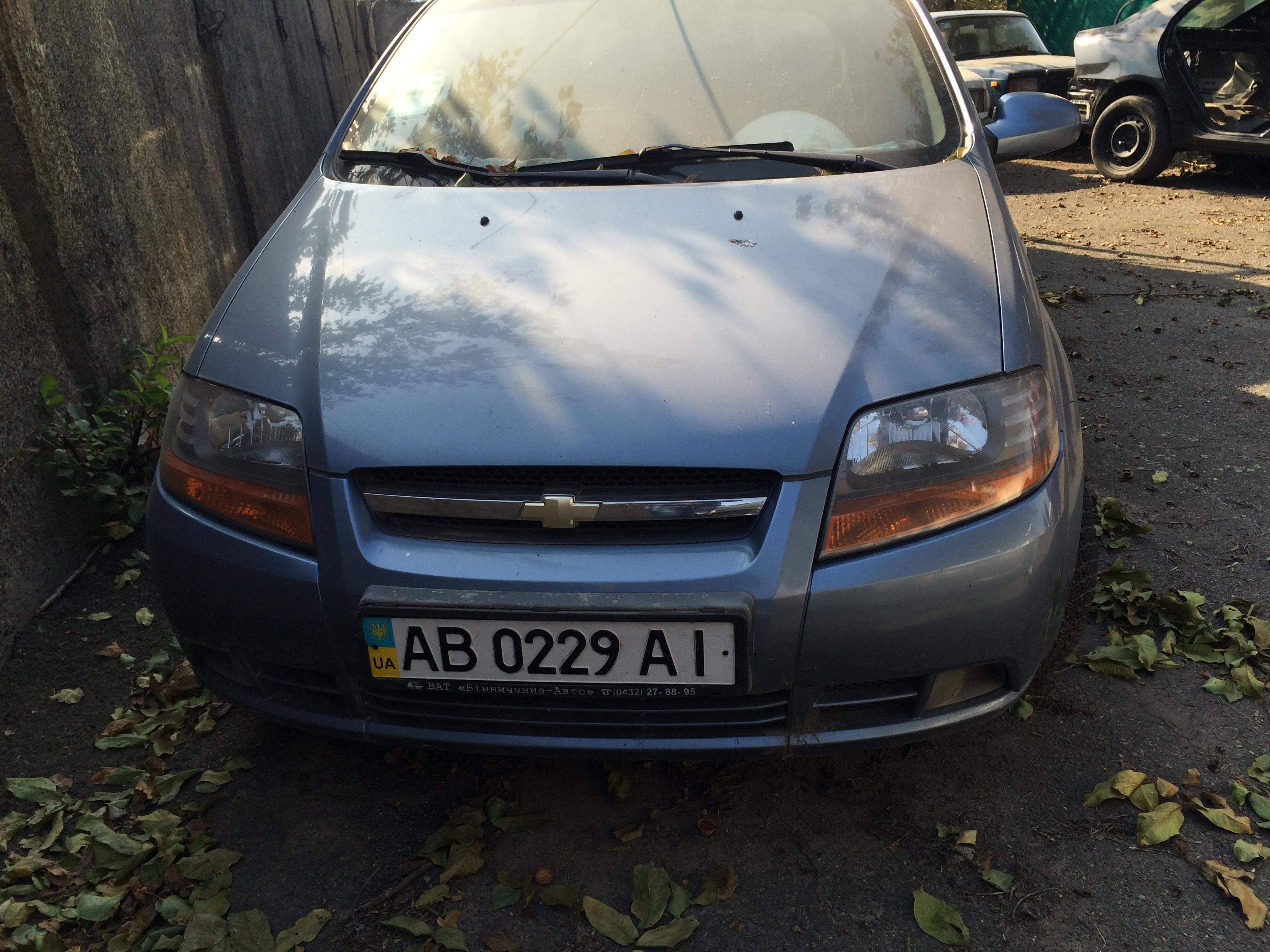 Автомобіль Chevrolet Aveo 1.5