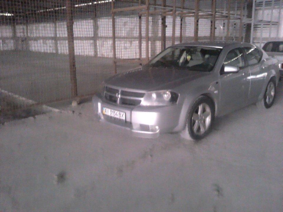 Транспортний засіб Dodge Avenger, 2008 року випуску, ДНЗ: АІ 3154 ВХ