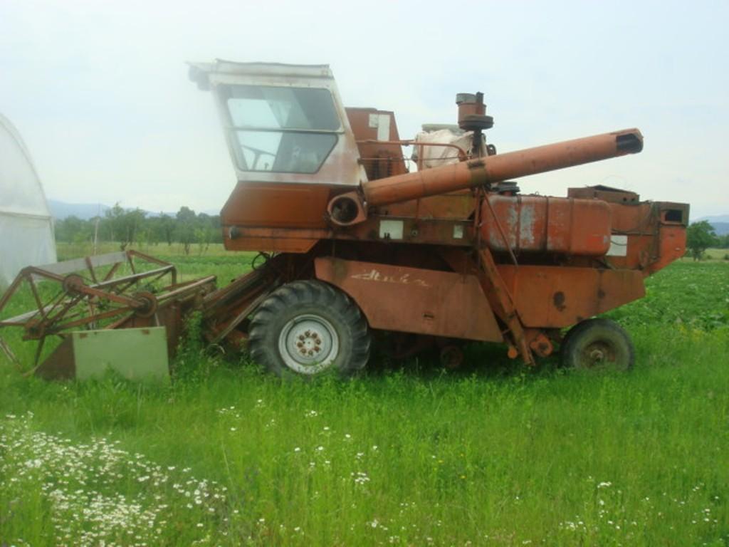 Комбайн зернозбиральний, марки СК-5