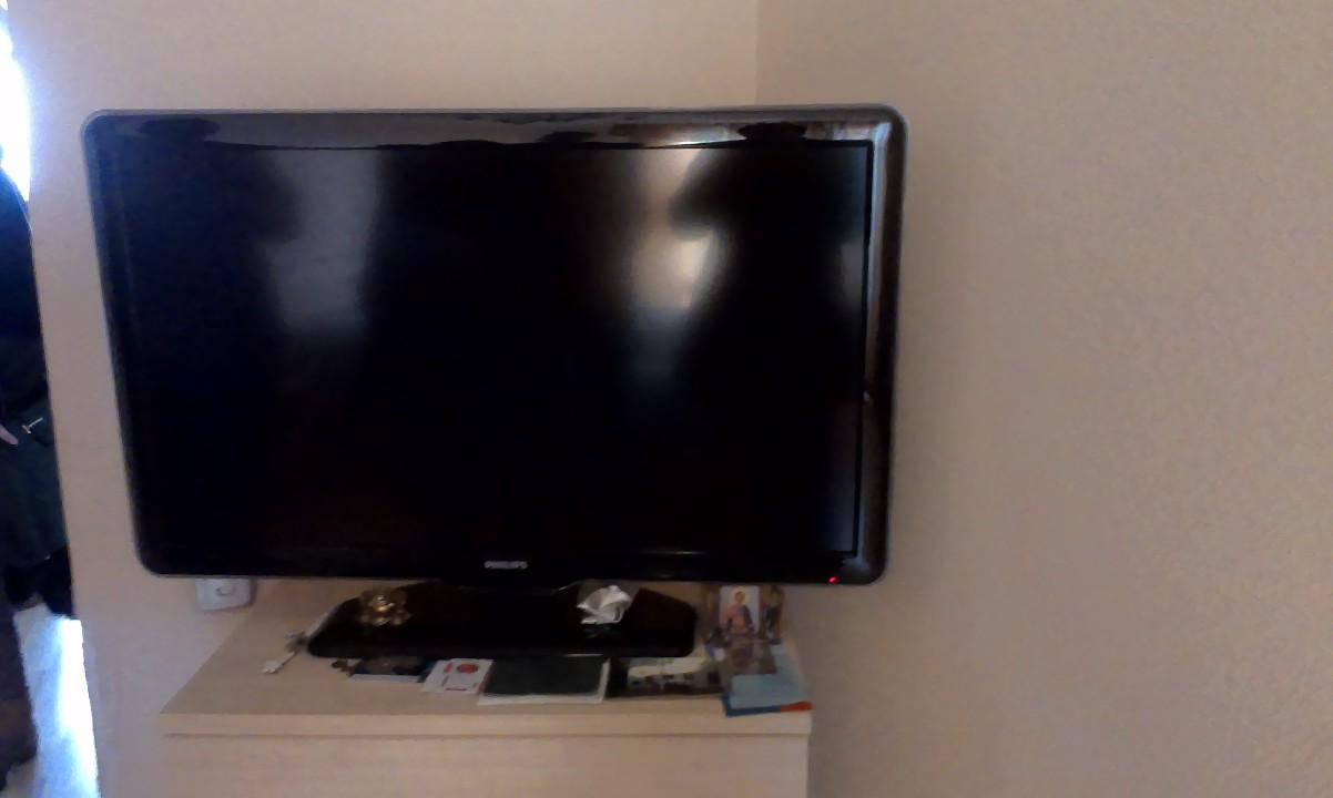 Телевізор Philips, чорного кольору в кількості 1 шт.