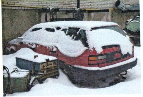 Автомобіль марки VOLKSWAGEN, 1992-го року випуску.