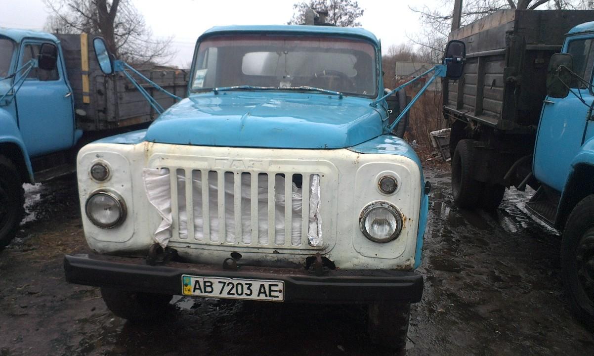 Автомобіль ГАЗ 53А, синього кольору, 1984 року випуску, № шасі: 854192, ДНЗ АВ7203АЕ