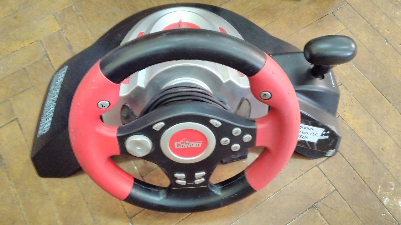 Ігрова приставка руль Cowboy speed racing