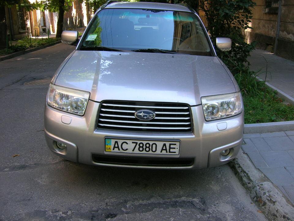 Автомобіль SUBARU FORESTER, 2006 року випуску, кузов № JF1SG5LE56G091179, ДНЗ АС7880АЕ