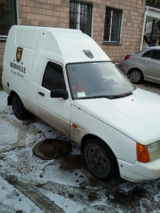 Автомобіль фургон малотоннажний-В ЗАЗ 110558-42, ДНЗ СВ2654ВВ, 2009 р.в., білого кольору, номер кузова Y6D11055890047717