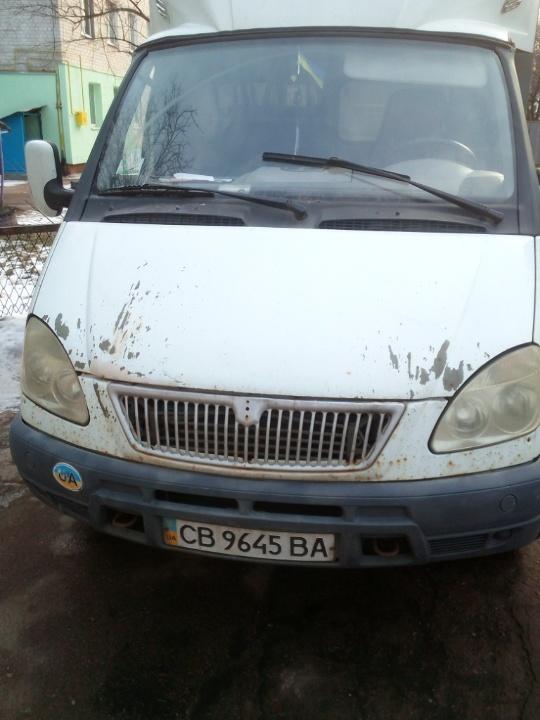 Автомобіль фургон малотоннажний-В ГАЗ Т95-3302, ДНЗ СВ9645ВА, 2008 р.в., білого кольору, номер кузова X9633020082334112