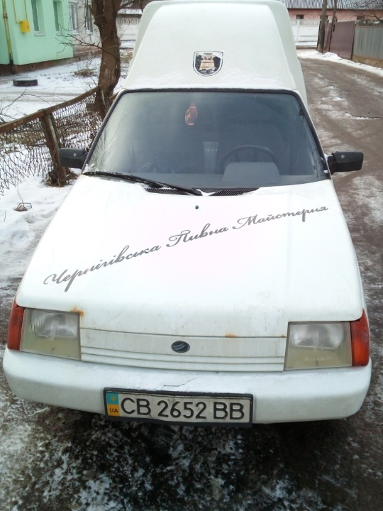 Автомобіль фургон малотоннажний-В ЗАЗ 110558-42, ДНЗ СВ2652ВВ, 2009 р.в., білого кольору, номер кузова Y6D11055890048123