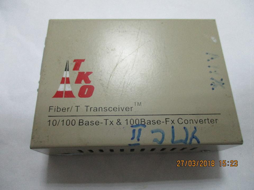 Трансивер Fiber /T Transceiver 10/100 Bace-Tx 100 Bace-Fx Converter