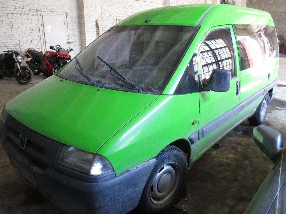 Транспортний засіб PEUGEOT EXPERT, 1999 року випуску, ДНЗ: ВК8870АВ, номер кузову: VF3BZWJZA12496707