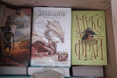 Друкована продукція видавництв Російської Федерації (книги різних найменувань) у кількості 270 (двісті сімдесят) штук