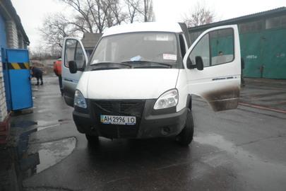 Вантажний автомобіль: ГАЗ 330273-388 (бортовий тентований), 2013 року випуску, ДНЗ: АН2996ІО, білого кольору, VIN: X96330273Е0816223; 330230Е0163028