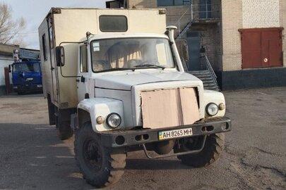 Вантажна автомобіль: ГАРЗ-2Л-32 (Техдопомога), на шасі ГАЗ 33081, 2011 р.в., ДНЗ: АН8265МН, білого кольору, VIN: Y6933082LB0B28079; 330700В0182813