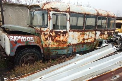 Автобус: КАВЗ 685М, білого кольору, 1985 р.в., ДНЗ: 05556ЕВ