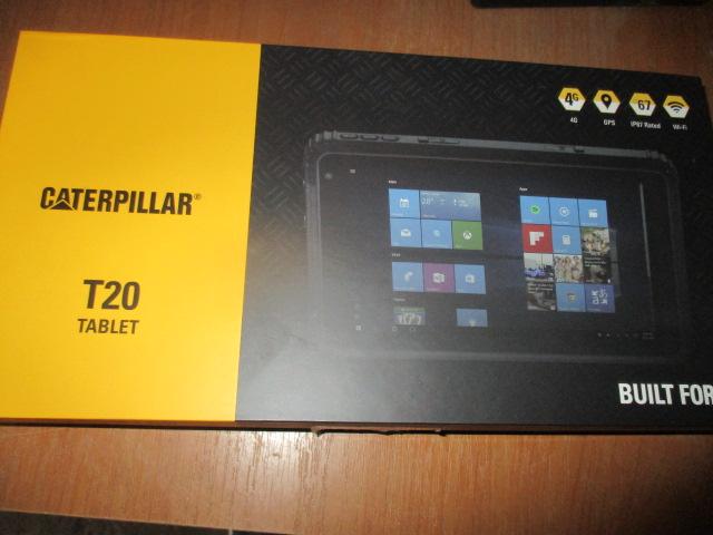 """Планшети """"Caterpillar T20 Tablet"""" в кількості 4шт."""