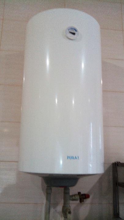Бойлер для нагрівання води марки PERLAS