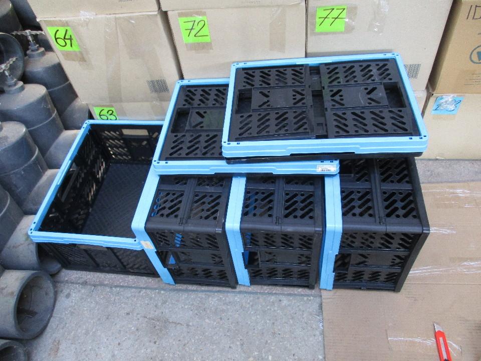 Ящики пластикові у кількості 6 шт