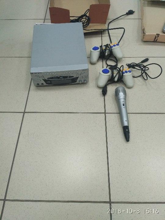 Музично-ігрова установка ELEKTA + джойстики у кількості 2 шт.  + пульт керування + мікрофон