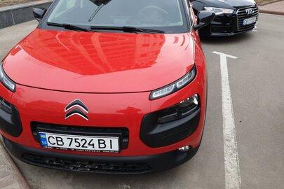 Транспортний засіб CITROEN C4 CACTUS, 2017 р.в., червоного кольору, д.н.з. СВ7524ВІ, номер кузова: VF70B9HPGHE547347, о6'єм двигуна 1560