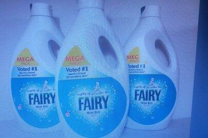 """Гель для прання торгової марки """"FAIRY"""", країна виробництва EU, в кількості 54 шт."""