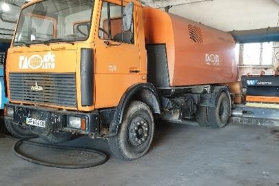 Підмітально-прибиральний транспортний засіб марки МАЗ, модель 533702, державний номер АР6476СЕ, 2006 року випуску, помаранчевого кольору, шасі (кузов, рама) №Y3M53370260007710