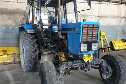 Трактор марки МТЗ, модель 82.1.26, державний номер 14183АР, 2010 року випуску, синього кольору, шасі (кузов, рама) №649607