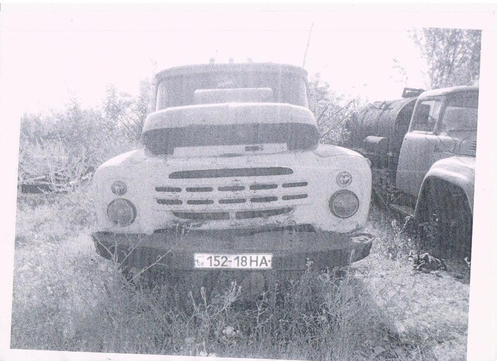 Поливомийний автомобіль ЗИЛ 431412 КО713, 1991 року випуску, синього кольору, державний номер 15218НА, № шасі (кузов, рама) М3111488