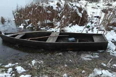 Дерев'яний човен