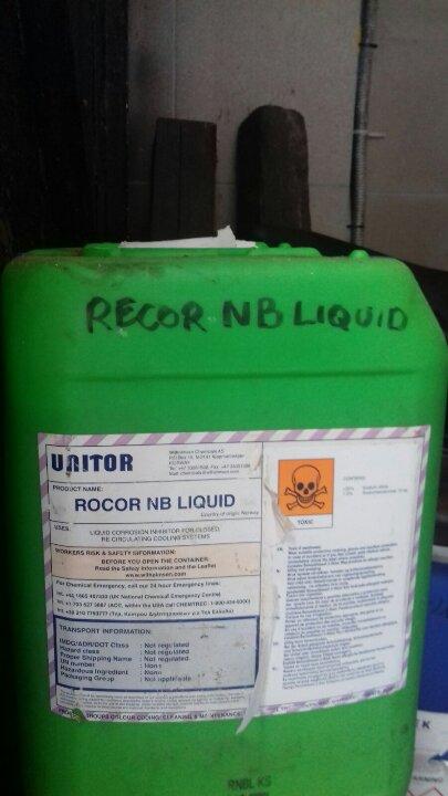 Хімічна речовина Rocor NB Liquid у кількості 50л