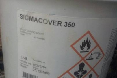 Фарба суднова Sigmacover у кількості 12 л
