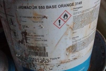 Фарба суднова Sigmadur у кількості 60 л