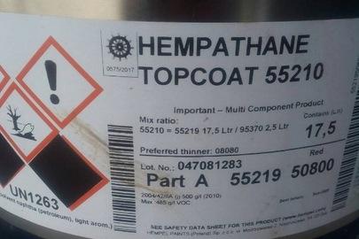 Фарба суднова Hempathane у кількості 52 л