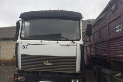 Сідловий тягач MAZ, 543203-222, 2007 року випуску, ДНЗ ВХ2430ВН, № шасі( кузова, рами): Y3M54320570002424