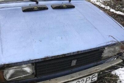 """Легковий автомобіль марки """"ВАЗ"""" модель """"2105"""", номер кузова XTA210500E0590972, реєстраційний номер – 42422РЕ, 1984 року виписку, синього кольору"""