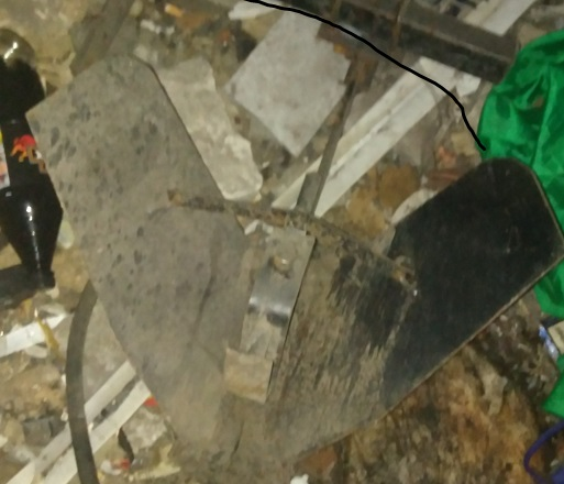Металевий плуг для мотоблоку