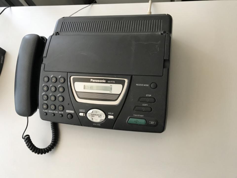 Факсимільний апарат Panasonik -KX-FT74 та факсовий апарат  Panasonik ME84