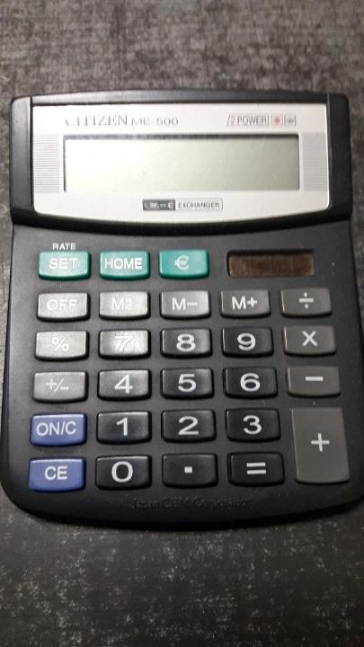 Калькулятор Citizen ME-500