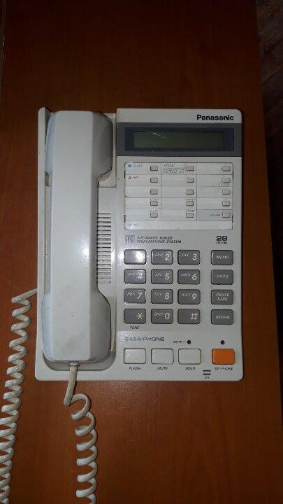 Стаціонарний телефон Panasonik EASA-PHONE