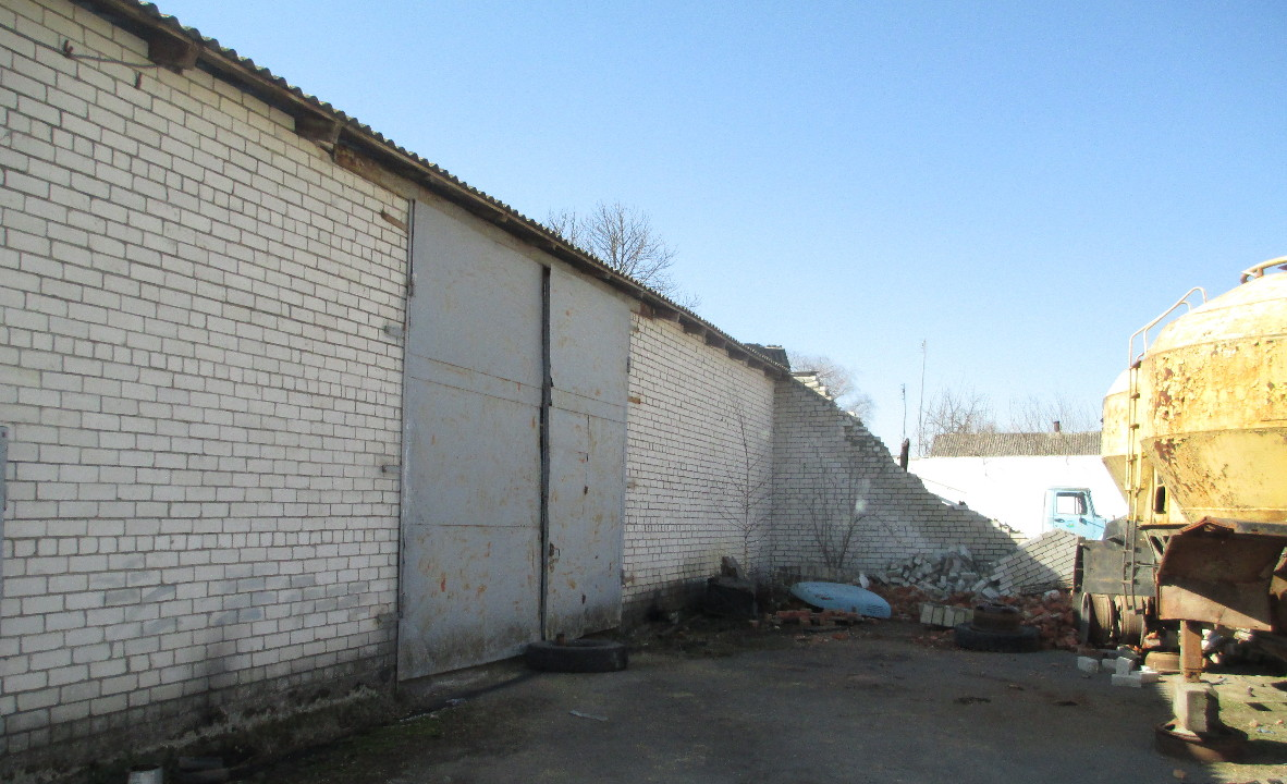 ІПОТЕКА: будівля гаражів літерою