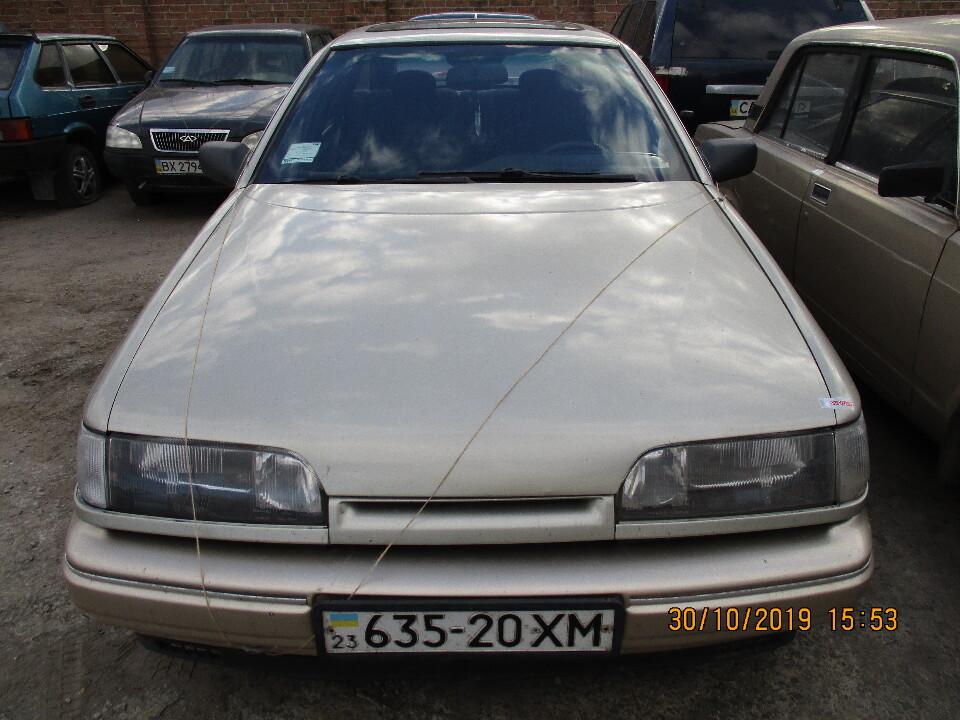 Автомобіль FORD SCORPIO, 1987 р.в., д.н.з.:635-20ХМ, номер кузаву: WF0AXXGAGAHU27548