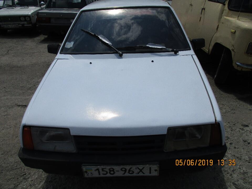 Автомобіль ВАЗ 21083, 1995 р.в., д.н.:158-96ХІ, номер кузову: ХТА210830Т1786839
