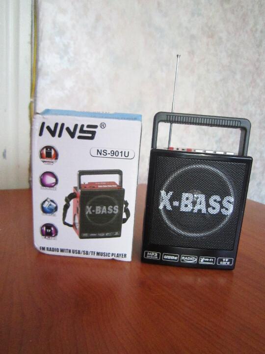 Радіоприймач  NNS NS 901u,  новий, 1 од.