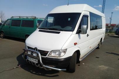 Автомобіль MERСEDES SPRINTER 313 CDI (вантажопасажирський), номер кузову: WDB9036631R880993, днз АН3570КН, 2005 р.в., білого кольору