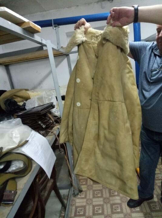 Майно вилучене в результаті порушення митних правил: одяг армійського призначення в асортименті у кількості 23 найменування