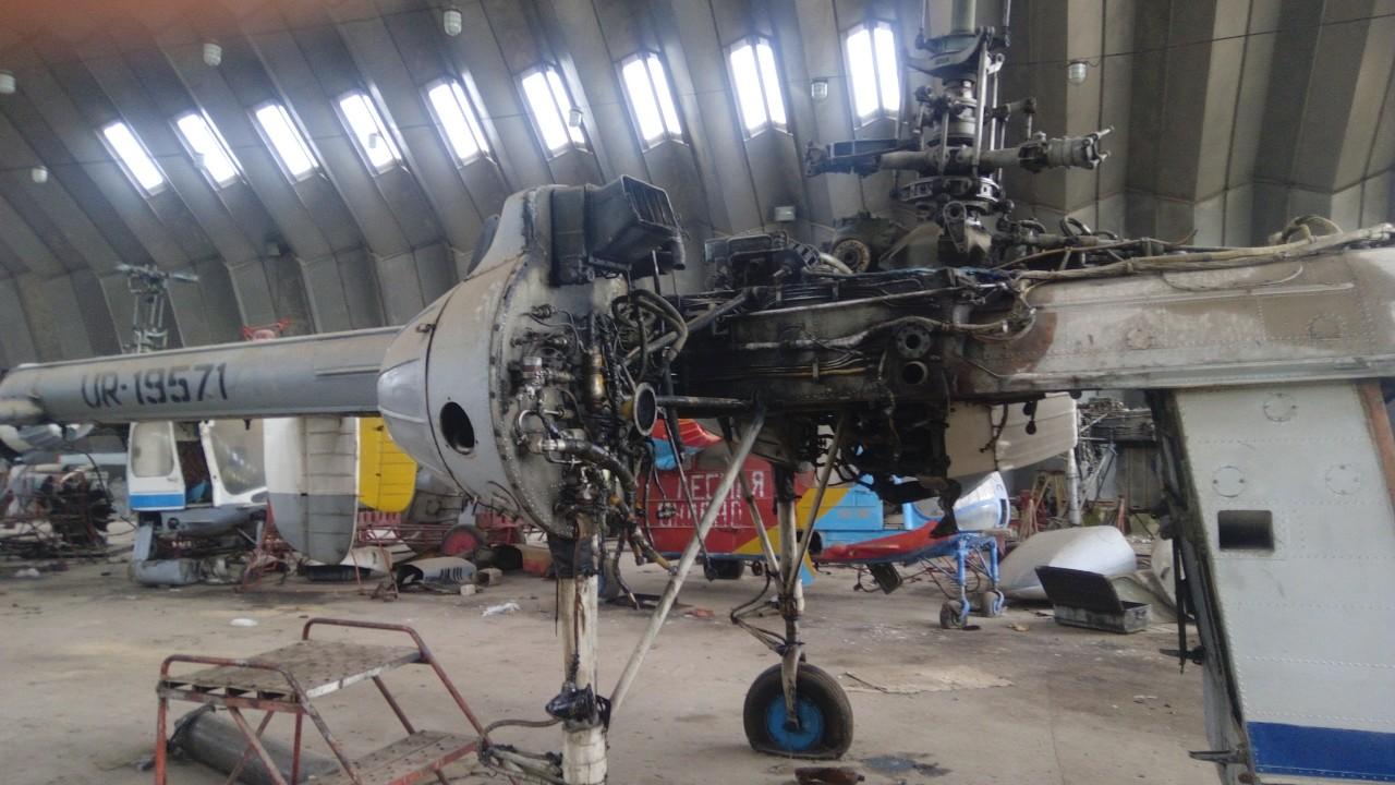 Вертоліт марки Ка-26