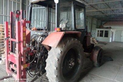 Трактор колісний МТЗ -82.1.26, заводський номер 005300, номер двигуна 693807, № 431852, номер державної реєстрації 00524АР
