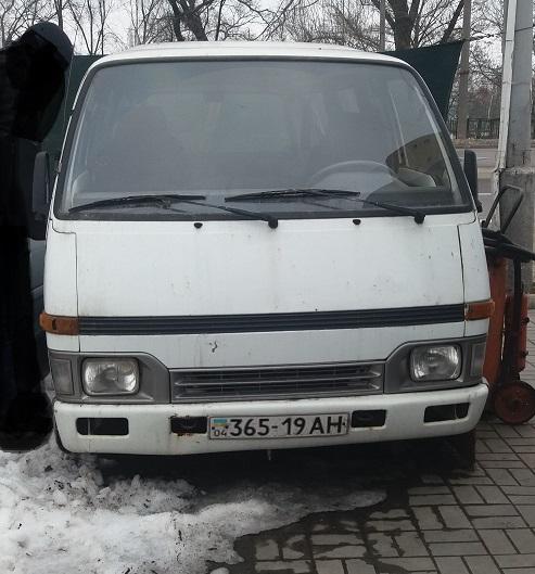 Автомобіль марки ISUZU модель MIDI, 1992 р.в., номер кузова: SED987700NV526212, д/н 36519АН