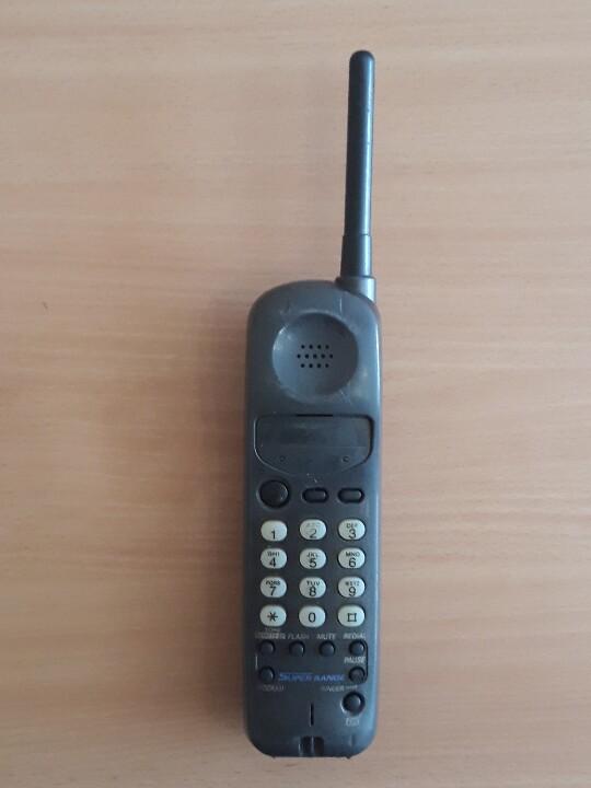 Трубка стаціонарного телефону «Panasonic»