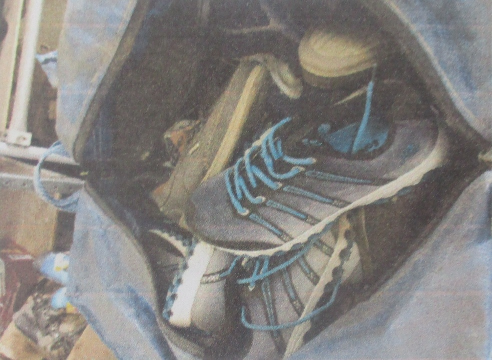 Взуття в асортименті різних т.м. та розмірів в кількості 102 пари
